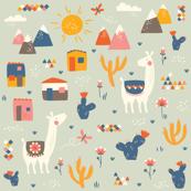Llamas // by petite_circus