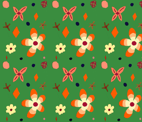 Spring_Fever fabric by sunyp on Spoonflower - custom fabric