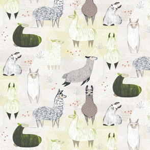 Llamas by Friztin