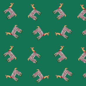 Llamas_in_pyjamas, green