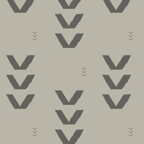 Arrows_Slate fabric by googoodoll on Spoonflower - custom fabric