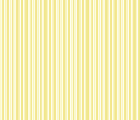 Yellow Stripes fabric by madex on Spoonflower - custom fabric