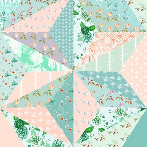 Spring Meadow Star Quilt