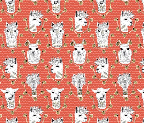 Llama_patternmasterred-sf_shop_preview