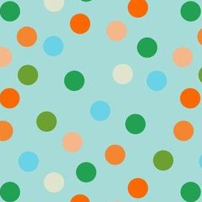 Beach polka dots
