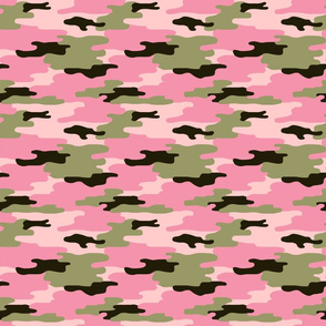 Sweet Pink Camo