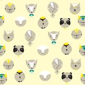 Animal Faces Vanilla