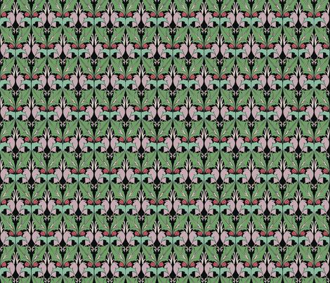 voysey1897a fabric by unseen_gallery_fabrics on Spoonflower - custom fabric