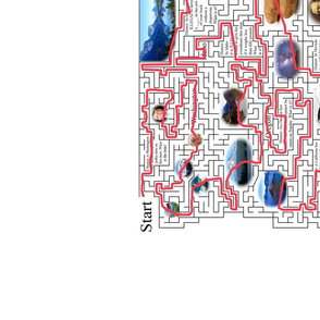 Answers for Map Maze FULL SIZE