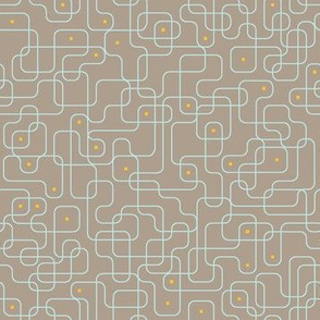 Small Circuits 2 (Taupe)