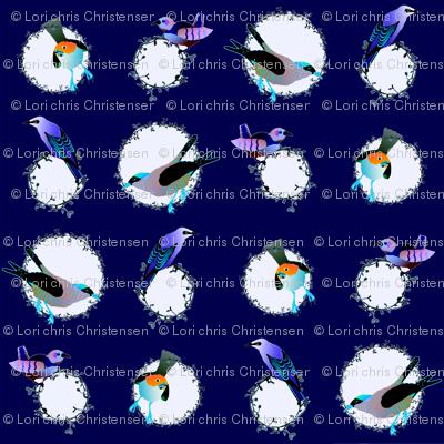 songbird dot plum