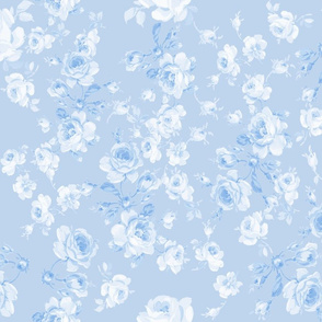 Saint Colette June Roses Blueberry Mono
