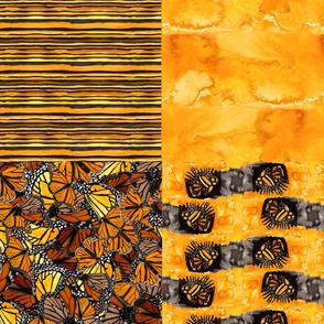 4 in 1 Australian_Wanderer_Butterfly_Coordinates_by_melanie_j_cook