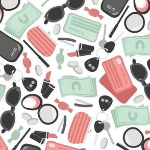 Lady's Handbag Essentials