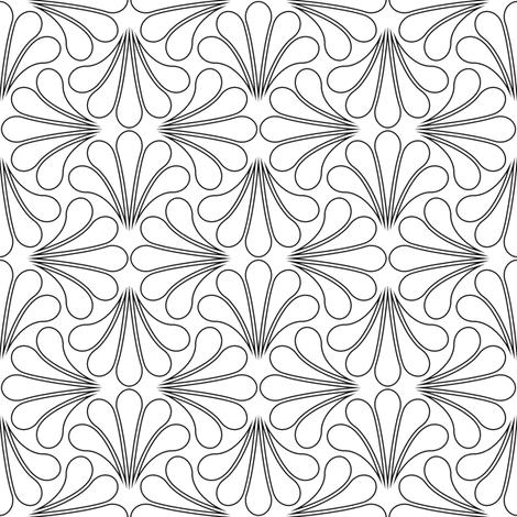 splash 4gX : outline fabric by sef on Spoonflower - custom fabric
