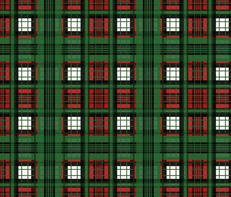 flannel plaid christmas ride fabric by peacoquettedesigns on spoonflower custom fabric