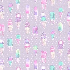 Nice Ice Creams - Purple