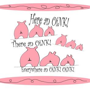 Everywhere An Oink Oink
