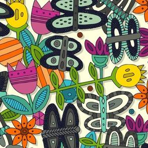 butterfly pop garden