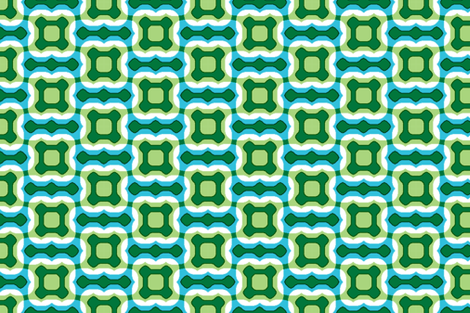 Retro Geometro fabric by fireflower on Spoonflower - custom fabric