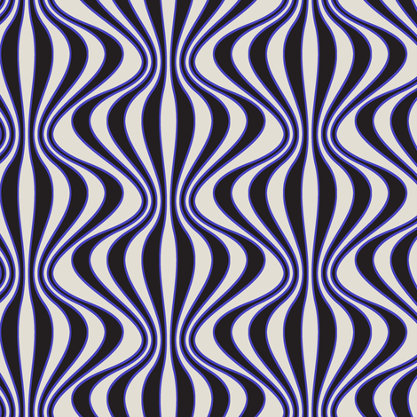 Circus (Blue) fabric by david_kent_collections on Spoonflower - custom fabric