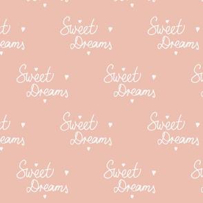 Sweet Dreams in Dusty Pink