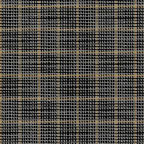 "Capaldi S9 ""Apprentice"" Plaid fabric by b00kworm77 on Spoonflower - custom fabric"