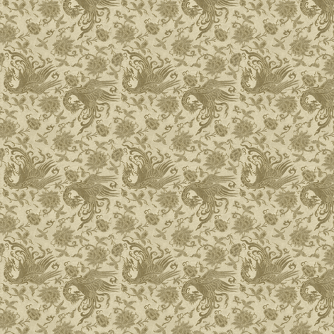 Jadi in Cream and Gold fabric by wanderingaloud on Spoonflower - custom fabric