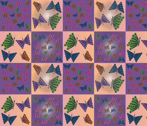 Butterfly_4a1_design_spoonflower7_3_2015 fabric by compugraphd on Spoonflower - custom fabric