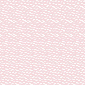 Dash White on Pink
