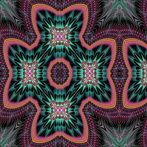Antoine_Nehme_Big_Heart_03 fabric by stradling_designs on Spoonflower - custom fabric