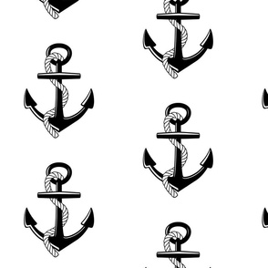 Anchors Large - onyx