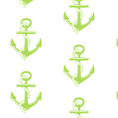 Anchors Large -key lime