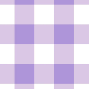 Large Buffalo Check  in lavender