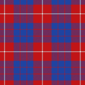 Hamilton red tartan