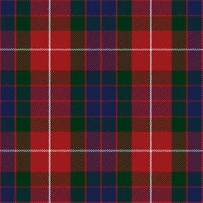 Fraser red tartan