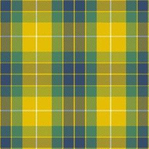 Fraser yellow tartan
