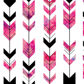 Watercolor arrows // wild and free