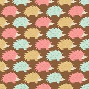 Spring Hedgehog Parade (Dark)