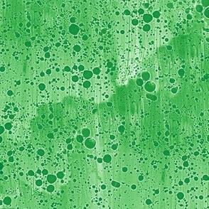 spearmint green ink splatter