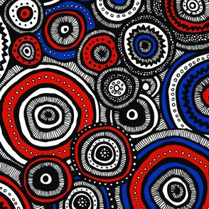Patriotic Tribal Circles