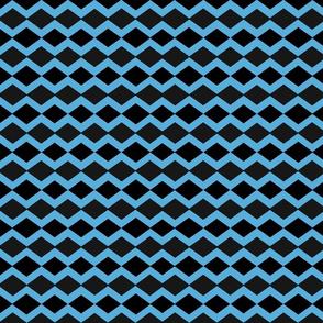 basketweave- blue crush ice