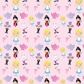 Wonderland Mix Up Pink