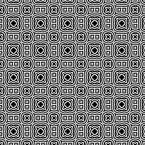 Sweet Black and White 2- Medium fabric by shala on Spoonflower - custom fabric