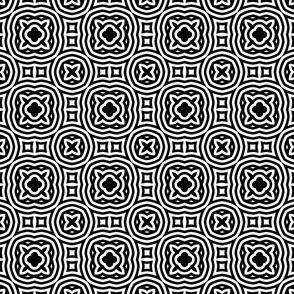 Sweet Black and White 2- Medium
