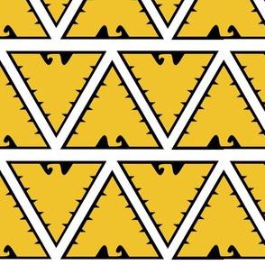 White Phoenix Rising Tribal Print