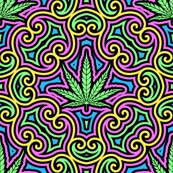Sweet Leaf 2 Color- Large