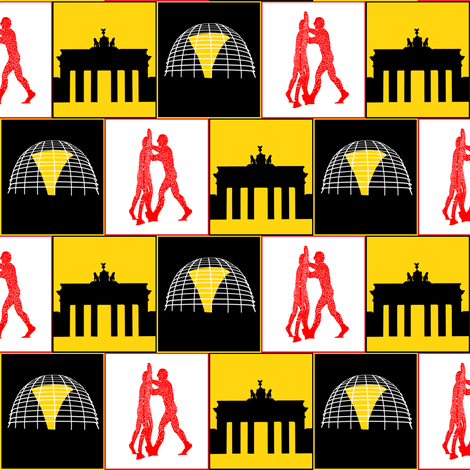 Berlin fabric by arts_and_herbs on Spoonflower - custom fabric