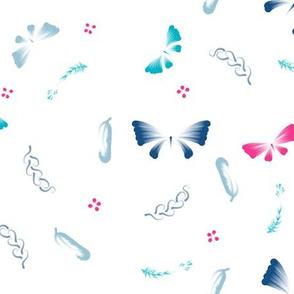 Doux papillons
