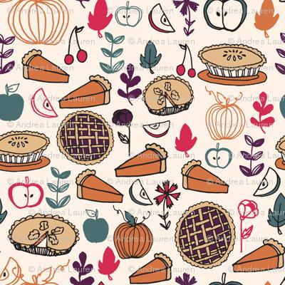 Pie (Tiny Version) // thanksgiving pies pie food cute pies apple pie pumpkin pie